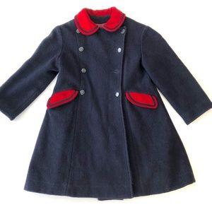 Rothschild vintage wool peacoat girls 6